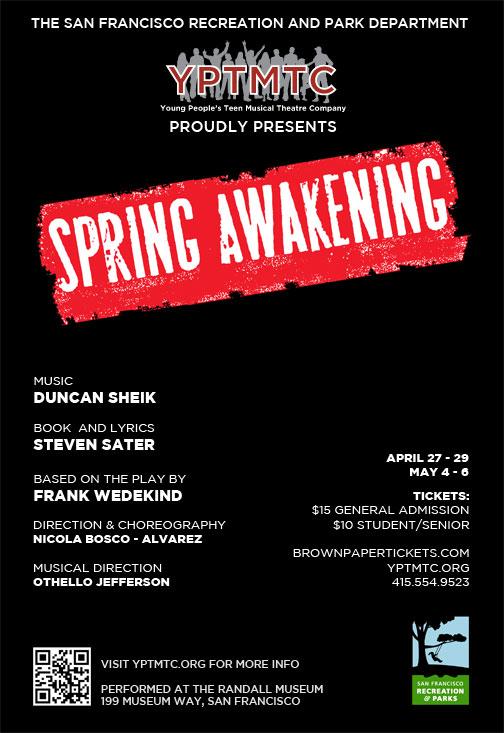 YPTMTC Presents Spring Awakening