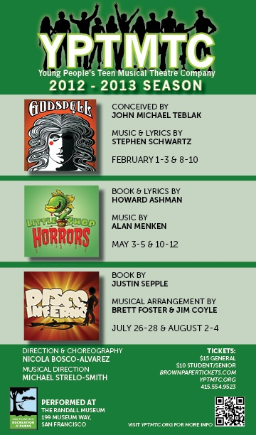 Join us for our 2012-13 Season!