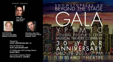 Showstoppers 30, Beyond the Stage, Gala