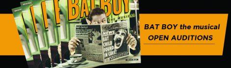 Open Auditions for Bat Boy 10/4 & 10/6