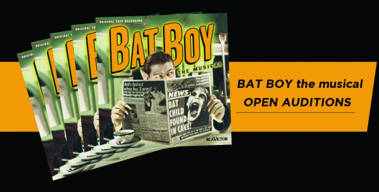 Open Auditions for Bat Boy 10/4 & 10/6