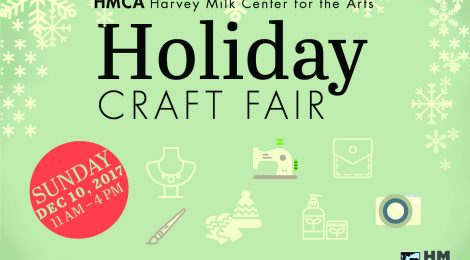 Holiday Craft Fair 12/10, 2017 @ HMCA